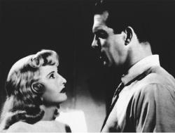 Barbara Stanwyck and Fred MacMurray in Double Indemnity.