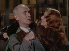 James Gleason and Rita Hayworth.