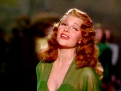 Rita Hayworth comes Down to Earth.