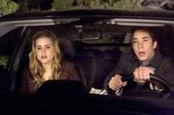Alison Lohman and Justin Long.
