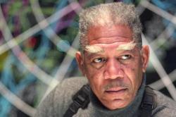 Morgan Freeman in Dreamcatcher.