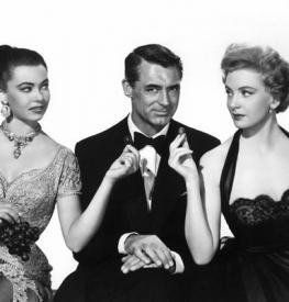Betta St John, Cary Grant and Deborah Kerr in Dream Wife