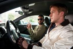 Oscar Isaac and Ryan Gosling in Drive.
