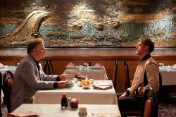 Albert Brooks and Ryan Gosling in Drive.
