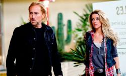 Nicolas Cage and Amber Heard in Drive Angry.