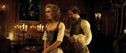 Keira Knightley and Ralph Fiennes in The Duchess