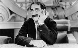 As usual, Groucho steals the show in Duck Soup.
