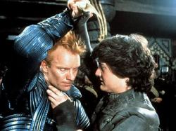 Sting and Kyle MacLachlan in Dune.