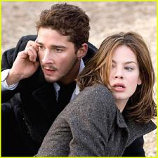 Shia LaBeouf and Michelle Monaghan.