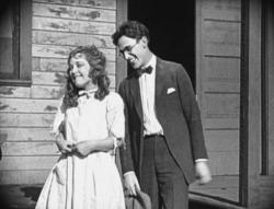 Mildred Davis and Harold Lloyd in An Eastern Westerner.