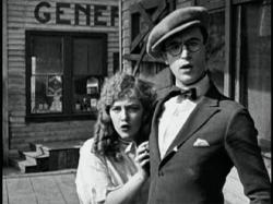 Mildred Davis and Harold Lloyd in An Eastern Westerner