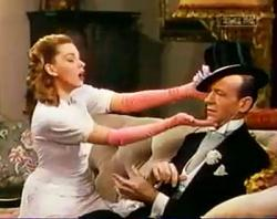 Judy Garland and Fred Astaire in Easter Parade.