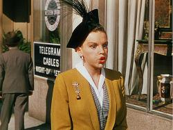 Judy Garland in Easter Parade.