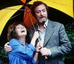 Julie Walters and Michael Caine in Educating Rita.
