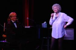 Rob Bowman accompanies the incomparable Elaine Stritch in Elaine Stritch: Shoot Me.