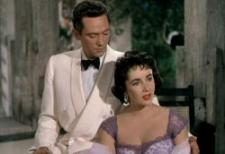 Peter Finch and Elizabeth Taylor.