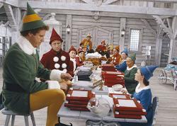 Will Ferrell in Elf.