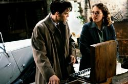 Dougray Scott and Kate Winslet in Enigma.