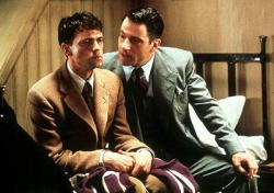 Dougray Scott and Jeremy Northam in Enigma.
