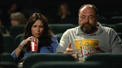 Julia Louis-Dreyfus and James Gandolfini in Enough Said