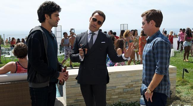 Adrian Grenier, Jeremy Piven and Kevin Connolly in Entourage