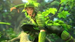 Nod, voiced by Josh Hutcherson, in Epic