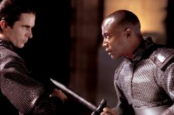Christian Bale and Taye Diggs in Equilibrium.