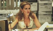 Although she dresses like someone who screws people for money, Erin Brockovich made alot of money because someone else screwed some people.