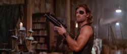 Kurt Russell as Snake Plissken in John Carpenter's Escape from New York.
