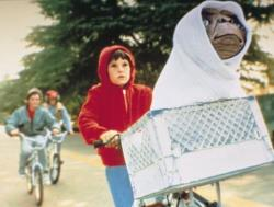 Henry Thomas in E.T.: The Extra-Terrestrial.