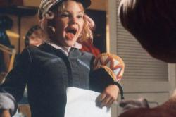 Drew Barrymore in E.T.: The Extra-Terrestrial.