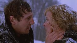 Liam Neeson and Patricia Arquette in Ethan Frome.