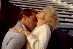 Dennis Quaid and Jessica Lange in Everybody's All-American.