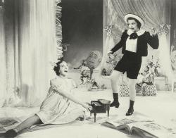 Fanny Brice and Judy Garland in Everybody Sing.