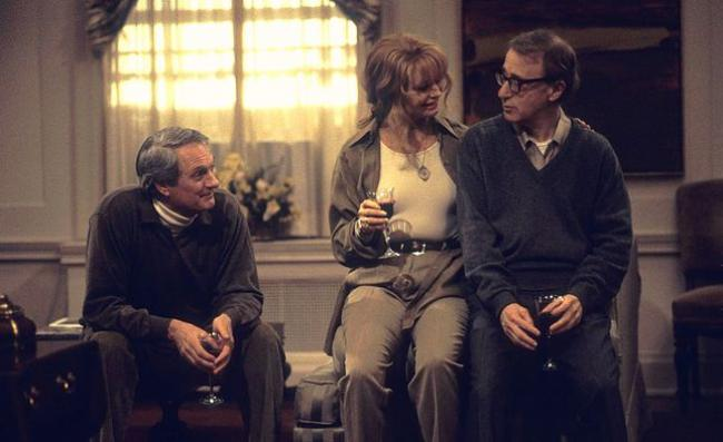 Alan Alda, Goldie Hawn, and Woody Allen in Everyone Says I Love You.