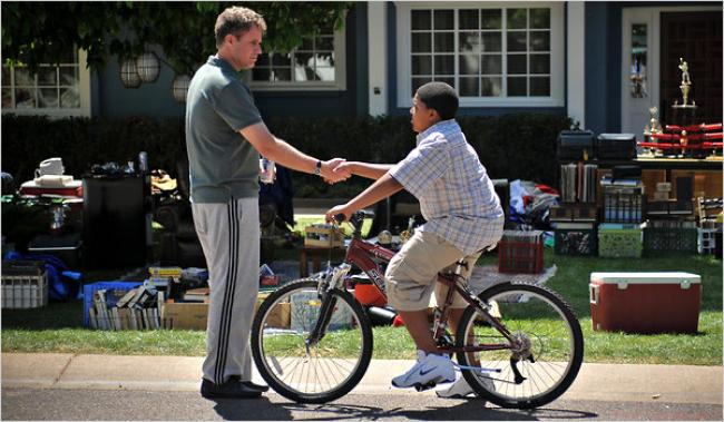 Will Ferrell and Christopher Jordan Wallace in Everything Must Go.