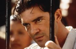 Antonio Banderas in Evita.