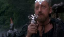 Nicol Williamson as Merlin in Excalibur.
