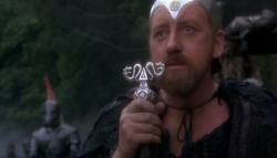 Nicol Williamson as Merlin in Excalibur.