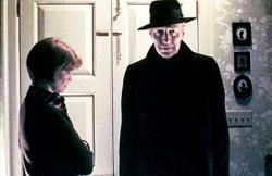Ellen Burstyn and Max von Sydow in The Exorcist.