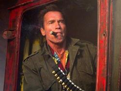 Arnold Schwarzenegger in The Expendables 2.