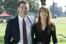 Jason Bateman and Kristen Wiig star in Extract.