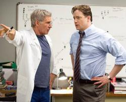 Harrison Ford and Brendan Fraser in Extraordinary Measures.