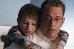 Thomas Horn and Tom Hanks in Extremely Loud and Incredibly Close