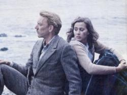 Donald Sutherland and Kate Nelligan in Eye of the Needle.