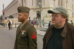 Michael Moore in Fahrenheit 9/11.