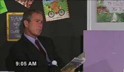 George Bush in Fahrenheit 9/11.