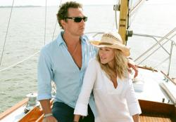 Matthew McConaughey and Sarah Jessica Parker in Failure to Launch.