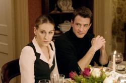 Sarah Jessica Parker and Dermot Mulroney in The Family Stone.