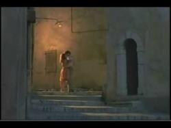 Leslie Caron as Fanny kisses Horst Buchholz as Marius